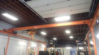 40ft X 27ft X 14ft Custom Built 2-Ton Overhead Crane *Note: Buyer Responsible For Load Out*