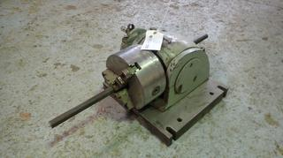 8in 3-Jaw Rotary Table w/ 2in Bore
