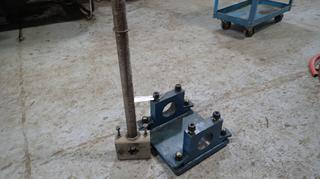 (2) Custom Made Lathe Boring Bar Holders