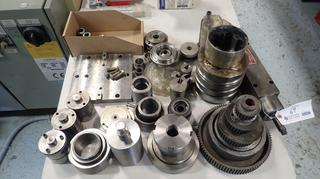 Qty Of Assorted Gun Drill Parts And Accessories Includes: Rebuilt Excello DB-20 Spindle, Bushings, Couplings And Collets