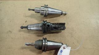 Cat 40 1 1/2in Tool Holder C/w Cat 40 EM037-0250 Tool Holder And Seco Cat 40 E2502 Tool Holder