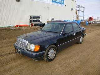1991 Mercedes Benz 300 D c/w In-Line 5 2.5L Diesel, Showing 374,698 Kms, A/T, A/C, Fully Loaded, Leather, Power Sunroof, 195/65R15 Tires at 40%, 4 Wheel Disc Brakes, Extra Set of All Season Tires On Mercedes Alloy Rims at 80%, VIN WDBEB28D7MB485796 *See Work Order In Documents Tab*