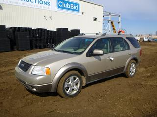 2006 Ford Freestyle SEL AWD c/w 3.0L Duratec, A/T, A/C, Showing 297,655 Kms, Fully Loaded, Power Sunroof, 215/65R17 Tires at 50%, VIN 1FMZK05196GA43816 *Note: Body Damage, Minor Rust*