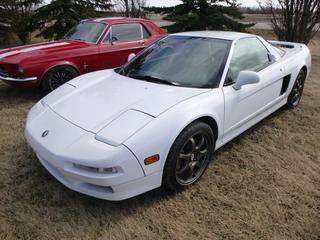 1997 Acura NSX-T c/w  3.0L Automatic w/ Manual Paddle Shift Option, Leather Interior, Custom CD Stereo, GPS and Back Up Camera,  106,840 Miles, Alberta Registered, VIN JH4NA1269VT000027 *Note: 10 years of service records from West Side Acura including regularly scheduled replacement of timing belt, water pump, plugs, etc*