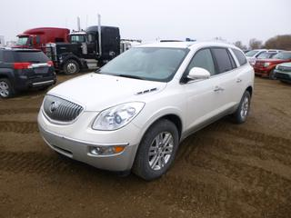 2009 Buick Enclave CX AWD c/w 3.6L VVT Direct Injection, A/T, A/C, Showing 298,184 Kms, Fully Loaded, Leather, 255/65R18 Tires at 30%, VIN 5GAEV13D29J150342 *Note: Engine Light On*