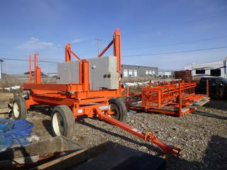 "Bridge Over Hang System c/w Model 16-9 A.T.X. Overhang Stripping Buggy, Platform 16'5"" x 102"", Ladder, Cat Walk, 255/70R22."