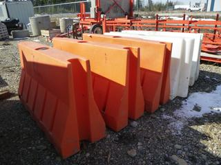 Quantity of (5) Guardian Barrier Systems, Interlocking. *One Damaged*