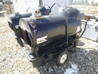 Flagro Construction Heater Model# FVO-400 c/w Diesel or Kersone, SN OV400-3636. *Running Condition Unknown*