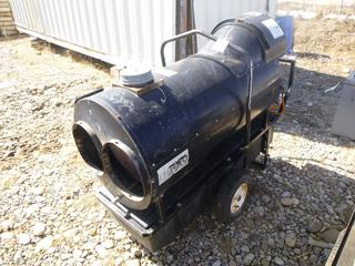 Flagro Construction Heater Model# FVO-400 c/w Diesel or Kersone, SN OV400-4430. *Running Condition Unknown*