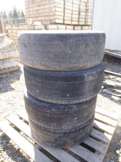 Quantity of (4) Tires w/ Rims, Pirelli Scorpion Zero 275/45 R22, 6 Bolt Ford Rims.
