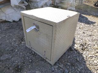 """Underbody Storage Box 24"""" x 24"""" x 24"""". *DAMAGED*"""
