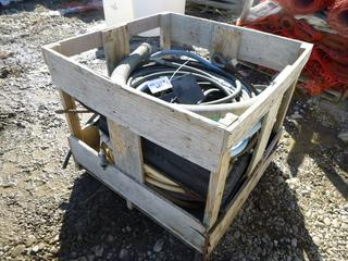 Quantity of Assorted Hoses & Cable.
