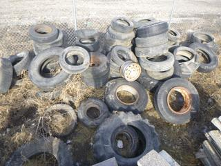 Quantity of Assorted Used Tires.