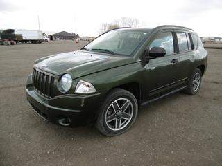2009 Jeep Compass North Edition 4x4 SUV c/w 2.4 Ltr Dual VVT, Auto A/C, Showing 135,425 Kms. VIN 1J4FF478X9D207275.