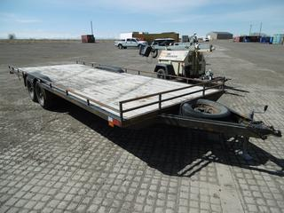 """Custombuilt 24' T/A Ball Hitch Utility Trailer c/w 2 5/16"""" Ball, Spare Tire, ST205/75R15 Tires. VIN 050144FS0007811CE"""