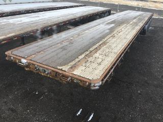 2006 Lode King 53' Triaxle Deck Trailer c/w Air Ride Susp., 10,000 KG Axle, 11R22.5 Tires. VIN 2L0PF53336D044912