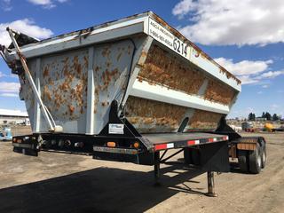2000 Arne's T/A Side Dump Lead Gravel Trailer VIN 2A9203125YA003457.