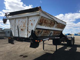 1998 Arne's T/A Side Dump Lead Gravel Trailer VIN 2A9203221WA003547.