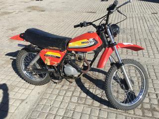 1979 Honda XL 100 Dirt Bike VIN HD01-500681.