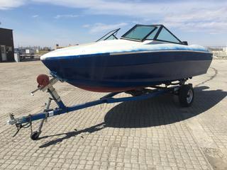 1976 Reinell Boat c/w Mercury 115 Outload Motor 155 HP, S/A Trailer