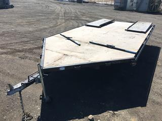 8'x18' S/A Ball Hitch ATV/Sled/Motorcycle Utility Trailer c/w Ramps, 215/70R15 Tires. VIN 2N9BS211X9S041124