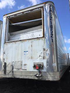 Selling Off-Site -  2002 Wabash Trailer 48' Insulated Van TA Trailer Air Ride Suspension VIN 1JJV482W32L817837,  GVWR 68,000 lbs . Located offsite at 11000 - 114 Avenue Southeast, Rocky View County, AB.