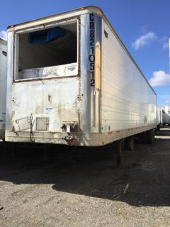 Selling Off-Site -  2002 Wabash Trailer 48' Insulated Van TA Trailer Air Ride Suspension  VIN 1JJV482W02L817827, GVWR 68,000 lbs  Located offsite at 11000 - 114 Avenue Southeast, Rocky View County, AB.