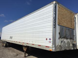 Selling Off-Site -  2000 Utility Trailer 48' Insulated Van TA Trailer Air Ride Suspension VIN 1UYVS248X1U579313, GVWR 29500 lbs. Located offsite at 11000 - 114 Avenue Southeast, Rocky View County, AB.