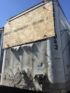 Selling Off-Site -  2002 Wabash Trailer 53' Insulated Van TA Trailer Air Ride Suspension VIN 1JJV532WX3L836127, GVWR 68,000 lbs *Note Located offsite at 11000 - 114 Avenue Southeast, Rocky View County, AB.