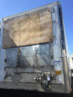 Selling Off-Site -  2001 Utility Trailer 48' Insulated Van TA Trailer Air Ride Suspension VIN 1UYVS24851U578313, GVWR 68000 lbs  Located offsite at 11000 - 114 Avenue Southeast, Rocky View County, AB.
