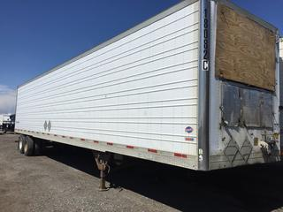 Selling Off-Site -  2001 Utility Trailer 48' Insulated Van TA Trailer Air Ride Suspension VIN 1UYVS24871U578345, GVWR 68000 lbs Located offsite at 11000 - 114 Avenue Southeast, Rocky View County, AB.