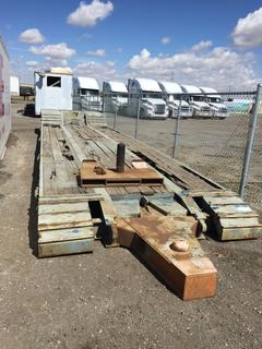 """Selling Off-Site - 8'6"""" x 42' Equipment Trailer,*Note Located offsite at 11000 - 114 Avenue Southeast, Rocky View County, AB."""