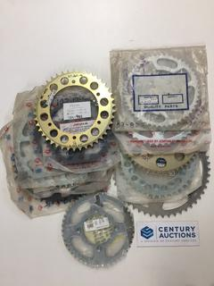 Quantity of Assorted Rear Honda Sprockets, 42, 46, 47, 48, 49, 50 & 52's Tooth.