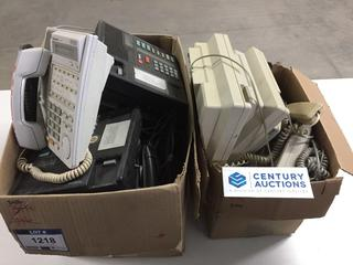 Telecom System & Assorted Office Phones.