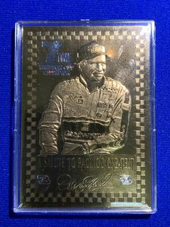 2001 Gold Collectibles 23kt Gold Leaf Dale Earnhardt Collector Card.