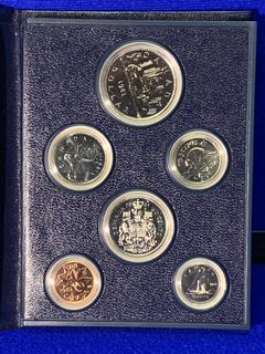 1981 Canada Coin Set.