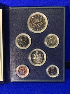1984 Canada Coin Set.