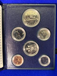 1985 Canada Coin Set.