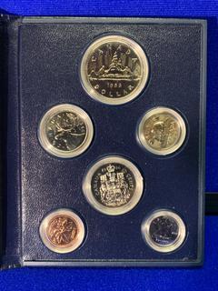 1986 Canada Coin Set.