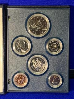 1987 Canada Coin Set.