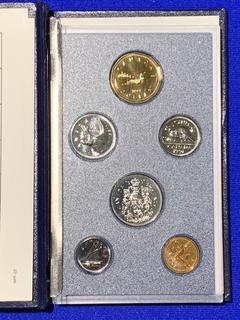 1991 Canada Coin Set.