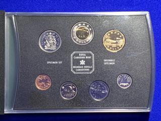 2000 Canada Specimen Coin Set.