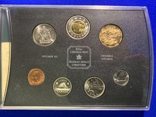 2002 Canada Specimen Coin Set.