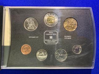 2004 Canada Specimen Coin Set.