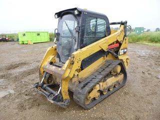 2015 CAT 259D Multi Terrain Loader c/w 12 In. Rubber Tracks, Showing 5215 Hrs. S/N CAT0259DCFTK00666 *Note: Filter and Oil Change Messages, No Bucket*