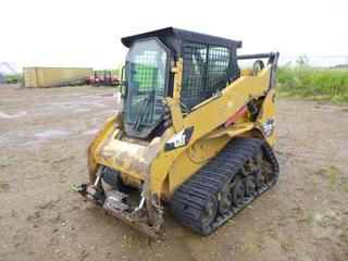 2012 CAT 257B3 Multi Terrain Loader c/w CAT C3.4, Showing 7,585 Hours, 15 In. Rubber Tracks, SN CAT0257BHB7H01271 *Note: Parts Only*