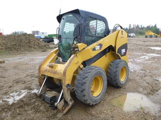 2011 CAT 246C Skid Steer c/w 12-16.5 NHS Tires, SN CAT0246CHJAY05567 *Note: No Engine, Parts Only*