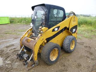 2011 CAT 246C Skid Steer c/w 12-16.5 NHS Tires, SN CAT0246CAJAY05257 *Note: No Engine, Parts Only*