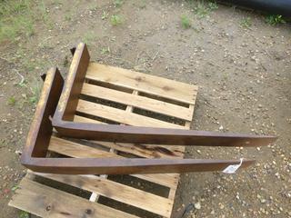 Skid Steer Forks. 44 In. x 6 In. x  23 In