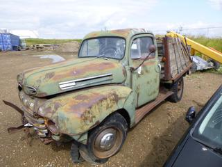 1948 Ford F-68 1 Ton, Flathead V8, SN DF83H48-9510. *Note: Parts Only*